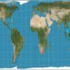 İstifadə etdiyimiz xəritə gerçək dünya xəritəsidirmi?
